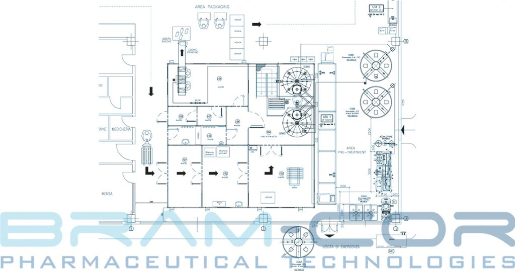 Pharmaceutical Turnkey - Lay-out of dialysis production